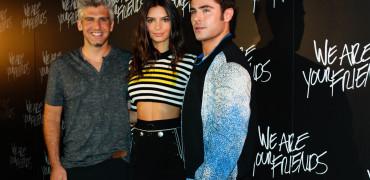 We Are Your Friends: Zac Efron Emily Ratajkowski Max Joseph Them Jeans Interview!