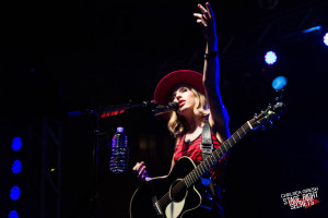 ZZ Ward doing her thing in Columbus at Fashion Meets Music Festival.