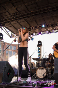 machineheart at Fashion Meets Music Festival in Columbus yesterday!