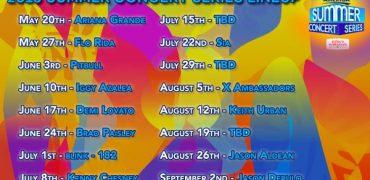 GMA Announes 2016 Summer Concerts Lineup