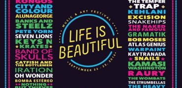 Life Is Beautiful Reveal 2016 Lineup!