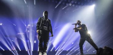 Eminem and Drake Perform 'Forever'