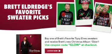 Brett Eldredge Becomes A (Tipsy) Elf!