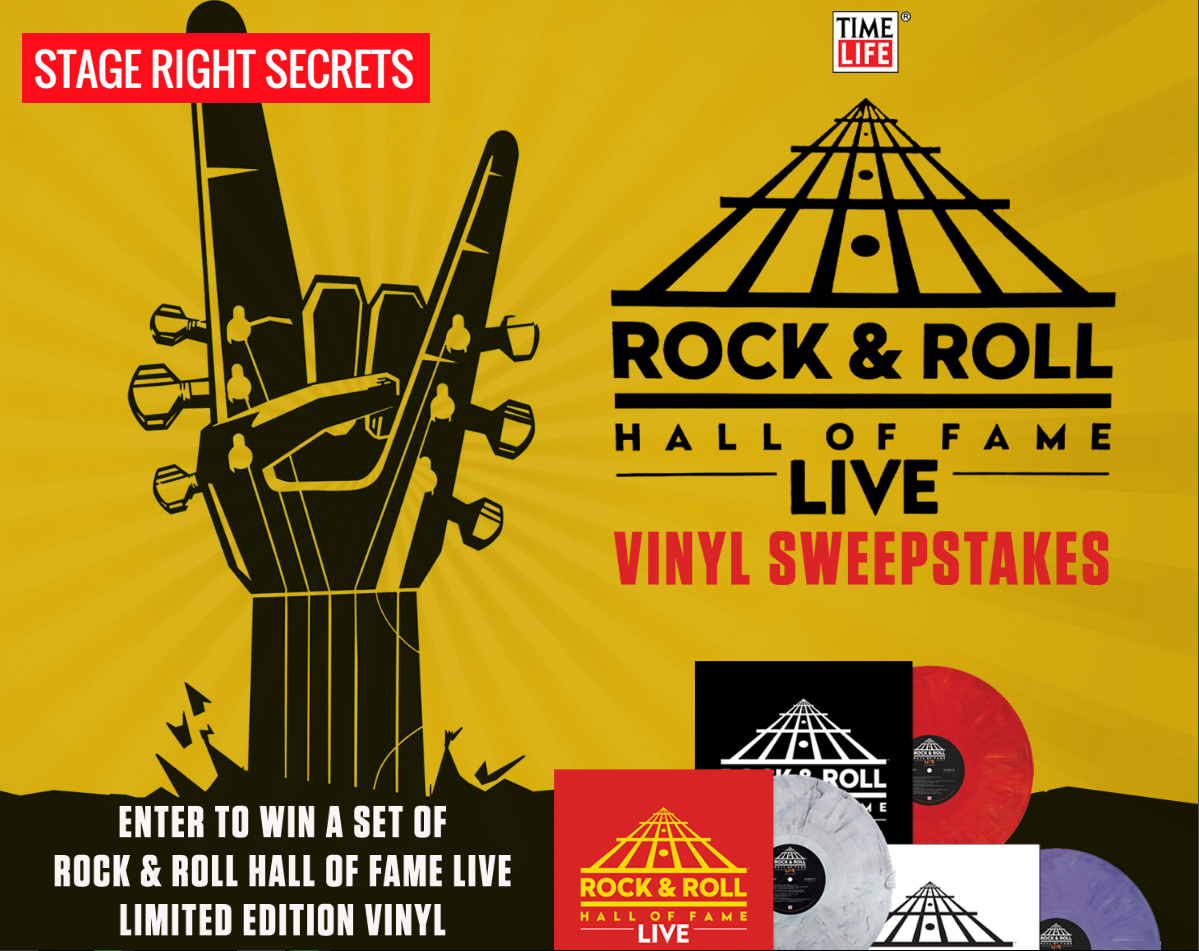 Contest  Win Rock  U0026 Roll Hall Of Fame Live Limited Edition