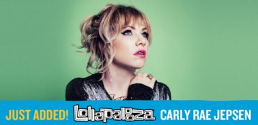 Carly Rae Jepsen added to Lollapalooza Lineup!