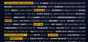 Austin City Limits Announces Late Night Shows