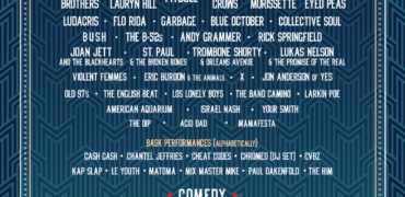 KAABOO Texas Unveils 2019 Comedy and Musical Lineup!