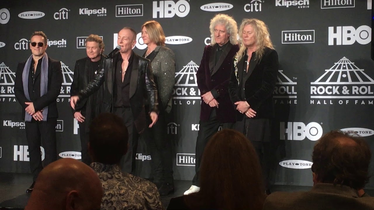 Def Leppard Rock And Roll Hall Of Fame : def leppard is finally inducted into the rock n roll hall of fame watch stage right secrets ~ Hamham.info Haus und Dekorationen