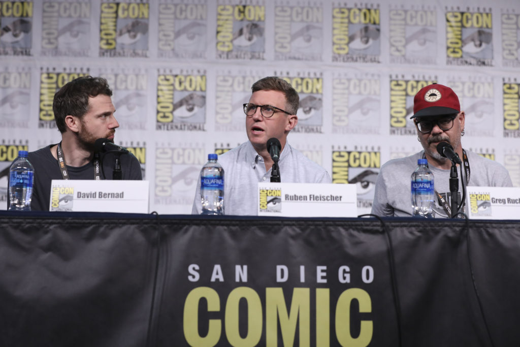 DAVID BERNAD (EXECUTIVE PRODUCER), RUBEN FLEISCHER (EXECUTIVE PRODUCER), GREG RUCKA (AUTHOR OF THE STUMPTOWN GRAPHIC NOVEL)
