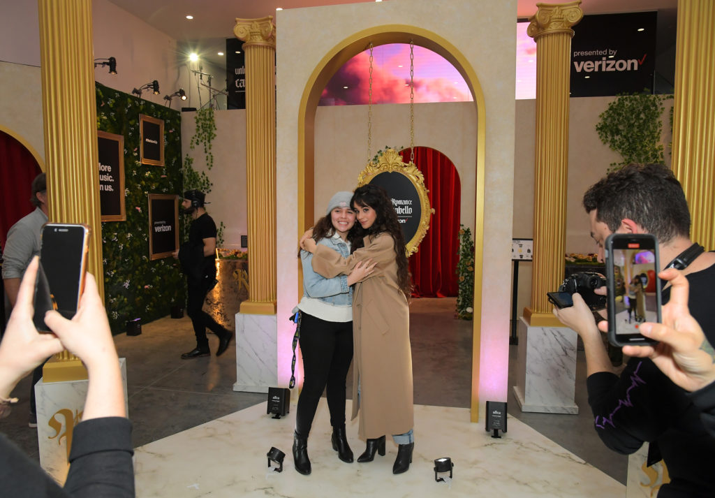Verizon and Camila Cabello Host Pop-Up and Q&A in Los Angeles to Celebrate Her New 'Romance' Album