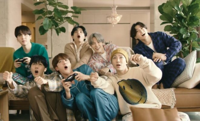 BTS Life Goes On Music video outfits charity auction